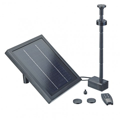 Oase pontect solar powered fountain pumps
